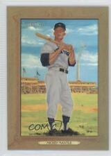 2007 Topps Turkey Red Chrome Refractors #34 Mickey Mantle New York Yankees Card