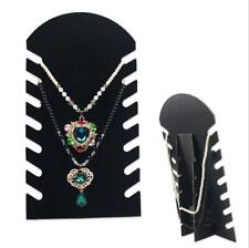 1 Pcs Stand Holder Display Velvet Necklace Display Stand Jewelry Chain Pendant