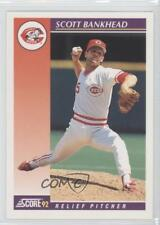 1992 Score Rookie & Traded #47T Scott Bankhead Cincinnati Reds Baseball Card