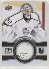 2015 Upper Deck UD Game Jersey Series 1 #GJ-JQ Jonathan Quick Los Angeles Kings