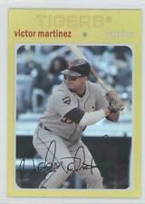 2012 Topps Archives Gold #76 Victor Martinez Detroit Tigers Baseball Card