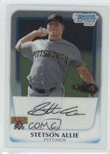 2011 Bowman Chrome Prospects #BCP86 Stetson Allie Pittsburgh Pirates Rookie Card