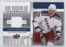 2008-09 Upper Deck UD Rookie Materials Jersey RM-LK Lauri Korpikoski Hockey Card