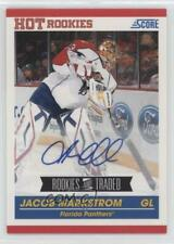 2010 Score Rookies & Traded Signatures Autographed 609 Jacob Markstrom Auto Card