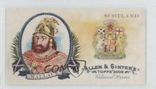 2009 Topps Allen & Ginter's National Heroes Minis #NH22 William Wallace Card