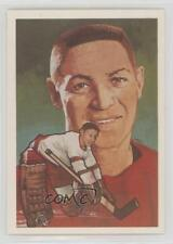 1983-84 Cartophilium Hockey Hall of Fame 46 Terry Sawchuk Detroit Red Wings Card