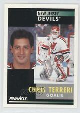 1991-92 Pinnacle #247 Chris Terreri New Jersey Devils Hockey Card