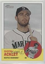 2012 Topps Heritage #366 Dustin Ackley Seattle Mariners Baseball Card