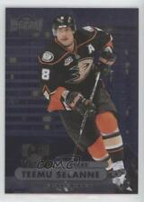 2013-14 Fleer Showcase Metal Universe #MU-20 Teemu Selanne Hockey Card