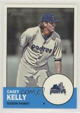 2012 Topps Heritage Minor League Edition #16.1 Casey Kelly San Diego Padres Card