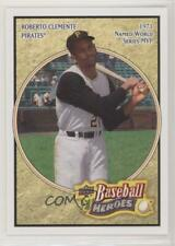 2008 Upper Deck Baseball Heroes #143 Roberto Clemente Pittsburgh Pirates Card