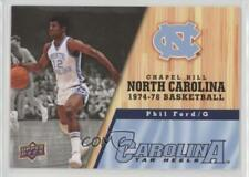 2010-11 UD North Carolina Basketball #32 Phil Ford (UNC) Tar Heels Card