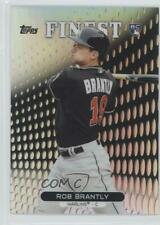 2013 Topps Finest Refractor #56 Rob Brantly Miami Marlins Rookie Baseball Card