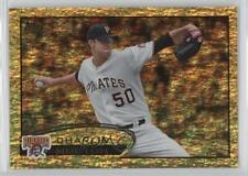 2012 Topps Golden Moments Parallel #516 Charlie Morton Pittsburgh Pirates Card