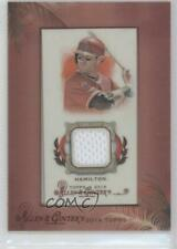 2014 Topps Allen & Ginter's Relics A RA-JH Josh Hamilton Los Angeles Angels Card