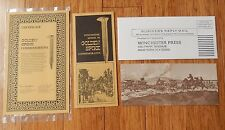 Vtg 1969 WINCHESTER Model 94 GOLDEN SPIKE Commemorative Advertising Brochure