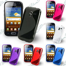Cover case cover TPU Silicone Soft S Wave Samsung Galaxy Ace 2 i8160 + Film