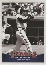 2015 Leaf Heroes of Baseball #49 Rod Carew Minnesota Twins Card