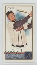 2011 Topps Allen & Ginter's Mini Ginter Back #53 Chipper Jones Atlanta Braves