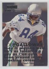 1998 Skybox Premium Rap Show #9 Joey Galloway Seattle Seahawks Football Card