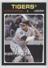 2012 Topps Archives #76 Victor Martinez Detroit Tigers Baseball Card