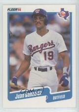 1990 Fleer #297 Juan Gonzalez Texas Rangers RC Rookie Baseball Card