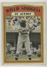 1972 Topps #448 Willie Stargell (In Action) Pittsburgh Pirates Baseball Card