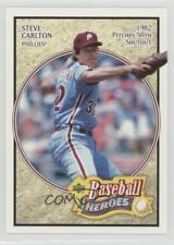 2005 Upper Deck Baseball Heroes #76 Steve Carlton Philadelphia Phillies Card