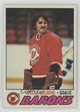 1977-78 Topps #109 Gilles Meloche Cleveland Barons Hockey Card