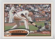 2012 Topps Emerald Nuts San Francisco Giants #SF22 Aubrey Huff Baseball Card