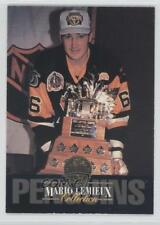 1993-94 Leaf Collection #6 Mario Lemieux Pittsburgh Penguins Hockey Card