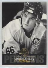 1993-94 Leaf Collection #2 Mario Lemieux Pittsburgh Penguins Hockey Card