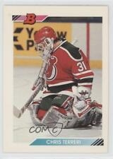 1992-93 Bowman #386 Chris Terreri New Jersey Devils Hockey Card