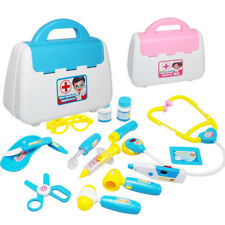 15 Pcs Doctor Kit Medical Box Play Set Kids Role Toy For Girl Boys Gift Healthy
