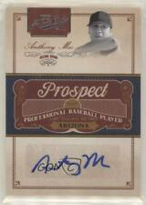 2011 Playoff Prime Cuts Prospect Signatures #AM Anthony Meo Auto Baseball Card