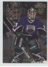 1996-97 Flair #1 Guy Hebert Anaheim Ducks (Mighty of Anaheim) Hockey Card
