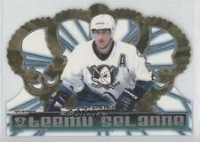 1998 Pacific Crown Royale 5 Teemu Selanne Anaheim Ducks (Mighty of Anaheim) Card
