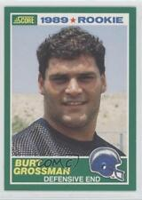 1989 Score #252 Burt Grossman San Diego Chargers RC Rookie Football Card
