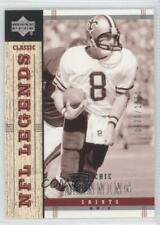 2004 Upper Deck NFL Legends #104 Archie Manning New Orleans Saints Football Card