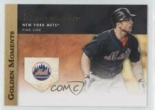 2012 Topps Golden Moments Series Two #GM-22 David Wright New York Mets Card
