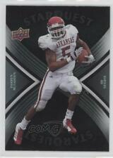 2008 Upper Deck Starquest Rainbow Black SQ8 Darren McFadden Oakland Raiders Card