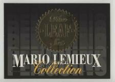 1993-94 Leaf Collection #1 Mario Lemieux Pittsburgh Penguins Hockey Card