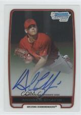 2012 Bowman Draft Picks & Prospects #BCA-ACH Andrew Chafin Auto Baseball Card