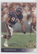 1993 Upper Deck SP #45 Alonzo Spellman Chicago Bears Football Card