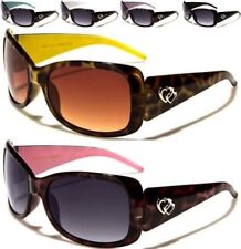 NEW CHILDREN SUNGLASSES BLACK PINK BROWN KIDS GIRLS DESIGNER WRAP RETRO UV400