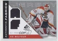 2007-08 SP Game Used Edition Authentic Fabrics AF-EB Ed Belfour Florida Panthers
