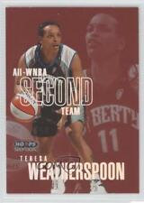 1999 WNBA Hoops Skybox All-WNBA First Team #10AW Teresa Weatherspoon Rookie Card