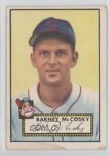 1952 Topps #300 Barney McCosky Cleveland Indians Baseball Card