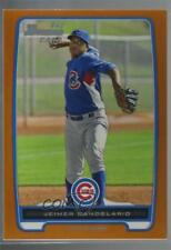 2012 Bowman Prospects Orange #BP20 Jeimer Candelario Chicago Cubs Tampa Bay Rays