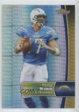 2012 Topps Finest Prism Refractor #65 Philip Rivers San Diego Chargers Card